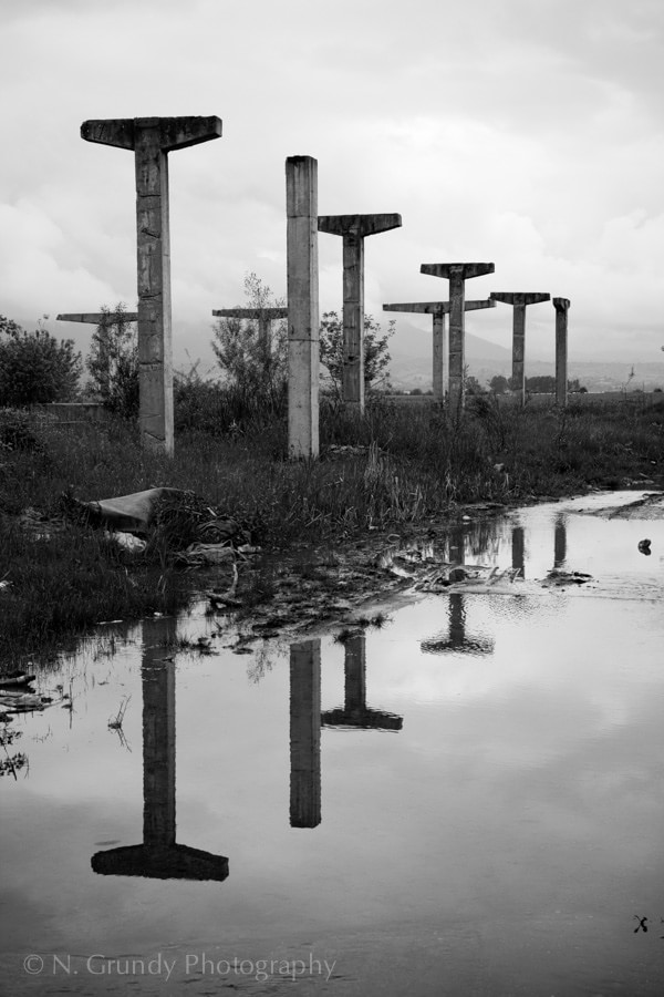Industrial Stonehenge
