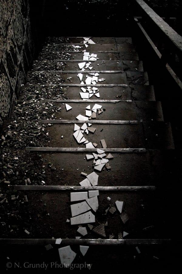 Iraqi Embassy Stairs