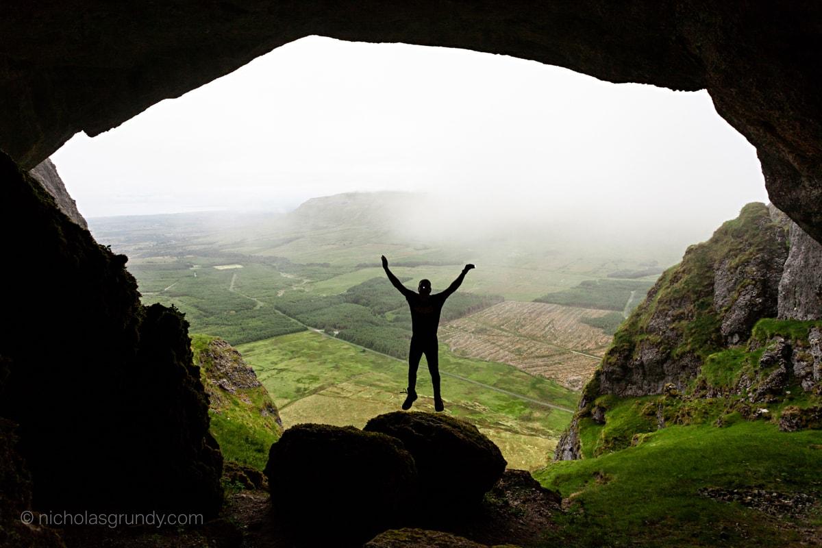 Diarmuid and Grainne's Cave Ireland