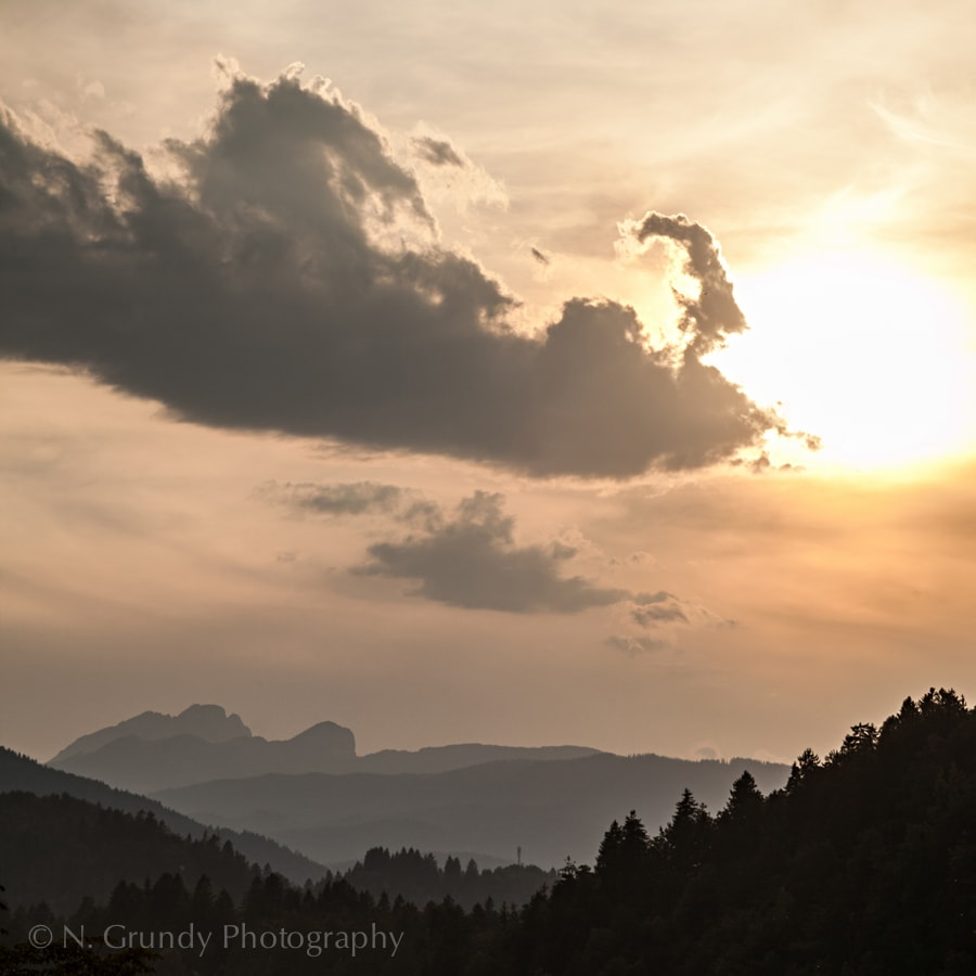Lake Bled Sunset Clouds