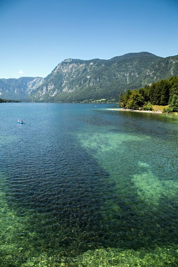 Turquoise Lake Bohinj