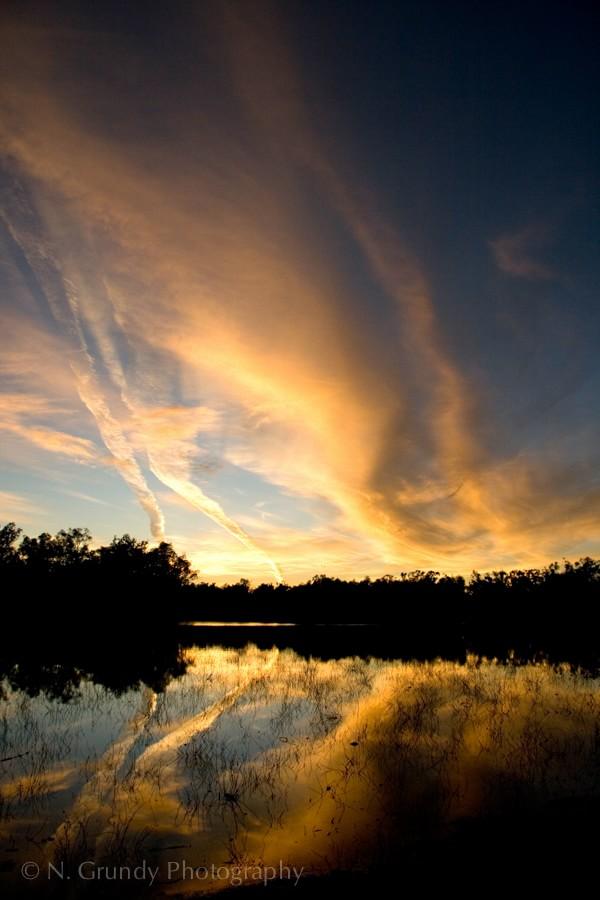 Lake Hattah Sunrise