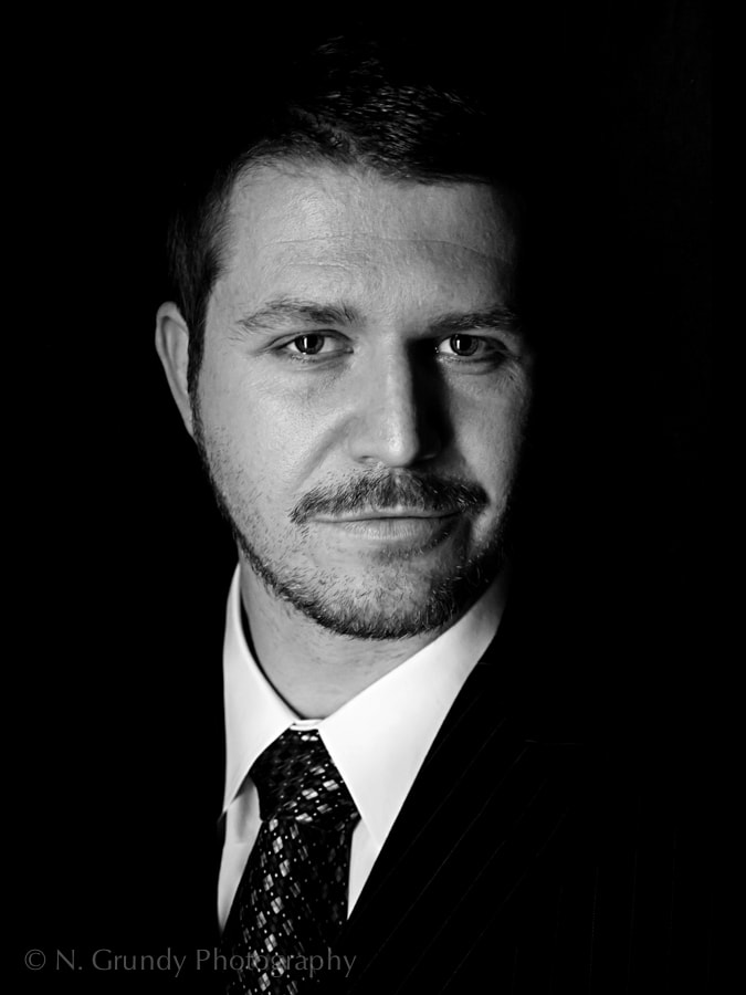 Corporate Head Shot, Lawyer Portrait Photo Galway