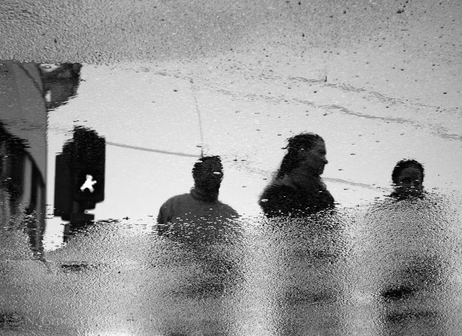 Lichtenberg Reflection Photo Berlin