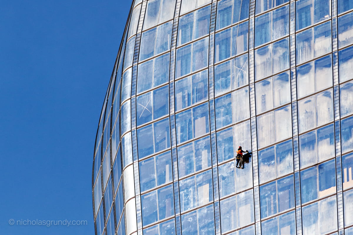 London Window Cleaner Photo