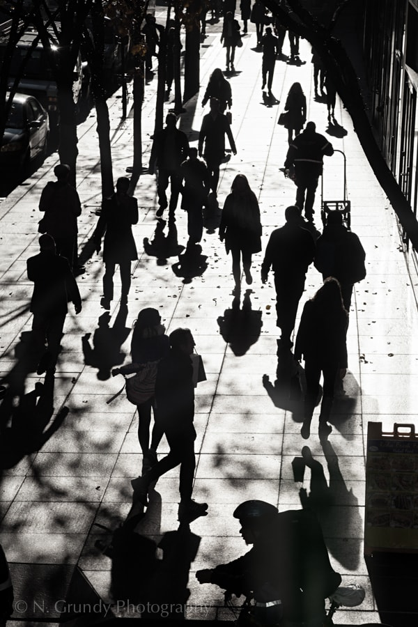 Madison Avenue Shadows