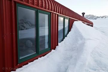 Mueller Hut Snow Drift