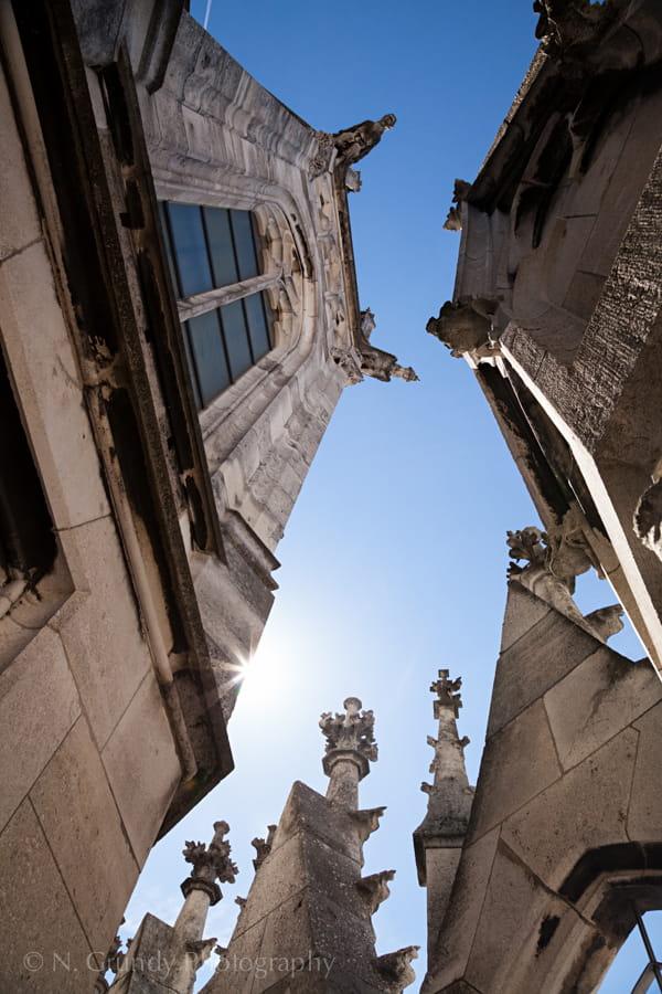 Munich Town Hall Spires