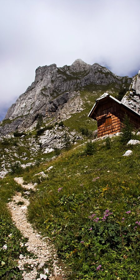 Hut Near Mount Triglav