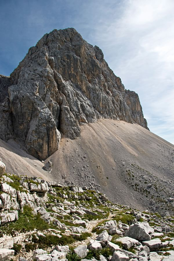 Julian Alps Scree