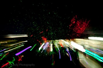 Night Lights by Abstract Photographer in Galway