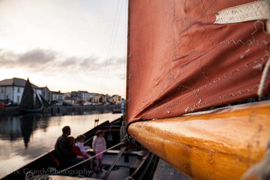 Galway Hooker Sail Photo