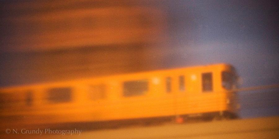 U1 Berlin Pinhole Photo by Nicholas Grundy Photographer