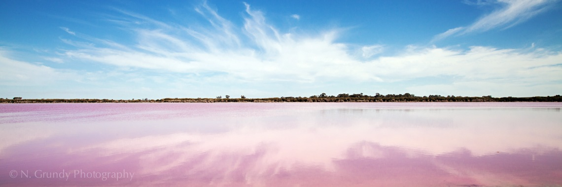 Pink Lake Australia photo by Nicholas Grundy