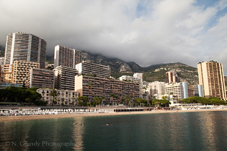 Plage du Larvotto, Monaco