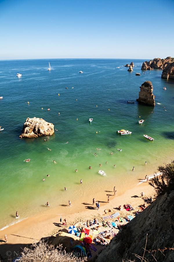 Praia Dona Ana Beach, Algarve, Portugal