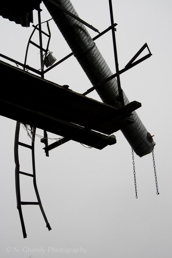 Rail Yard by Dublin Industrial Photographer