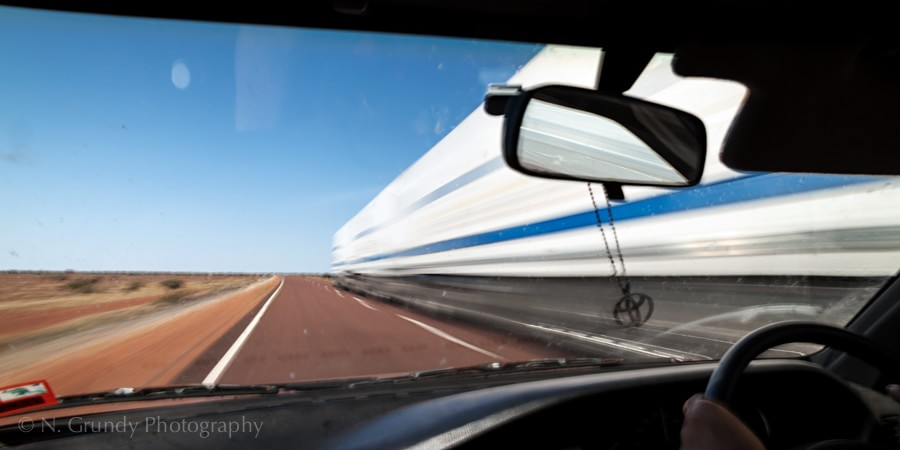 Road Train, Austrlian Outback