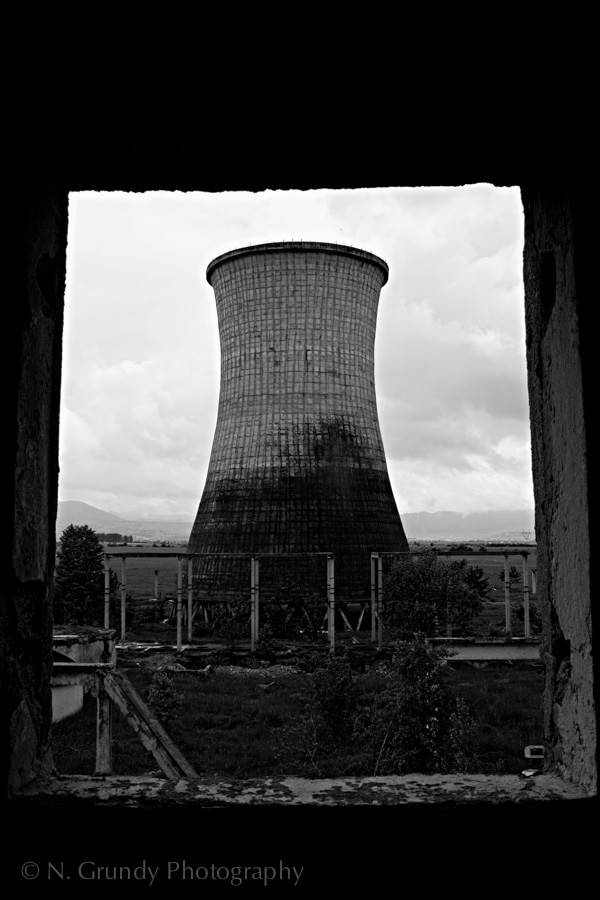 Romanian Cooling Tower by Nicholas Grundy Photography
