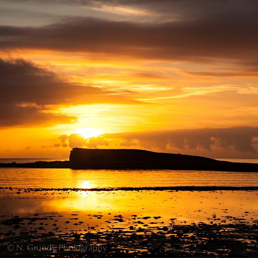 Oilean Na Feamainne by Salthill Photographer Nicholas Grundy