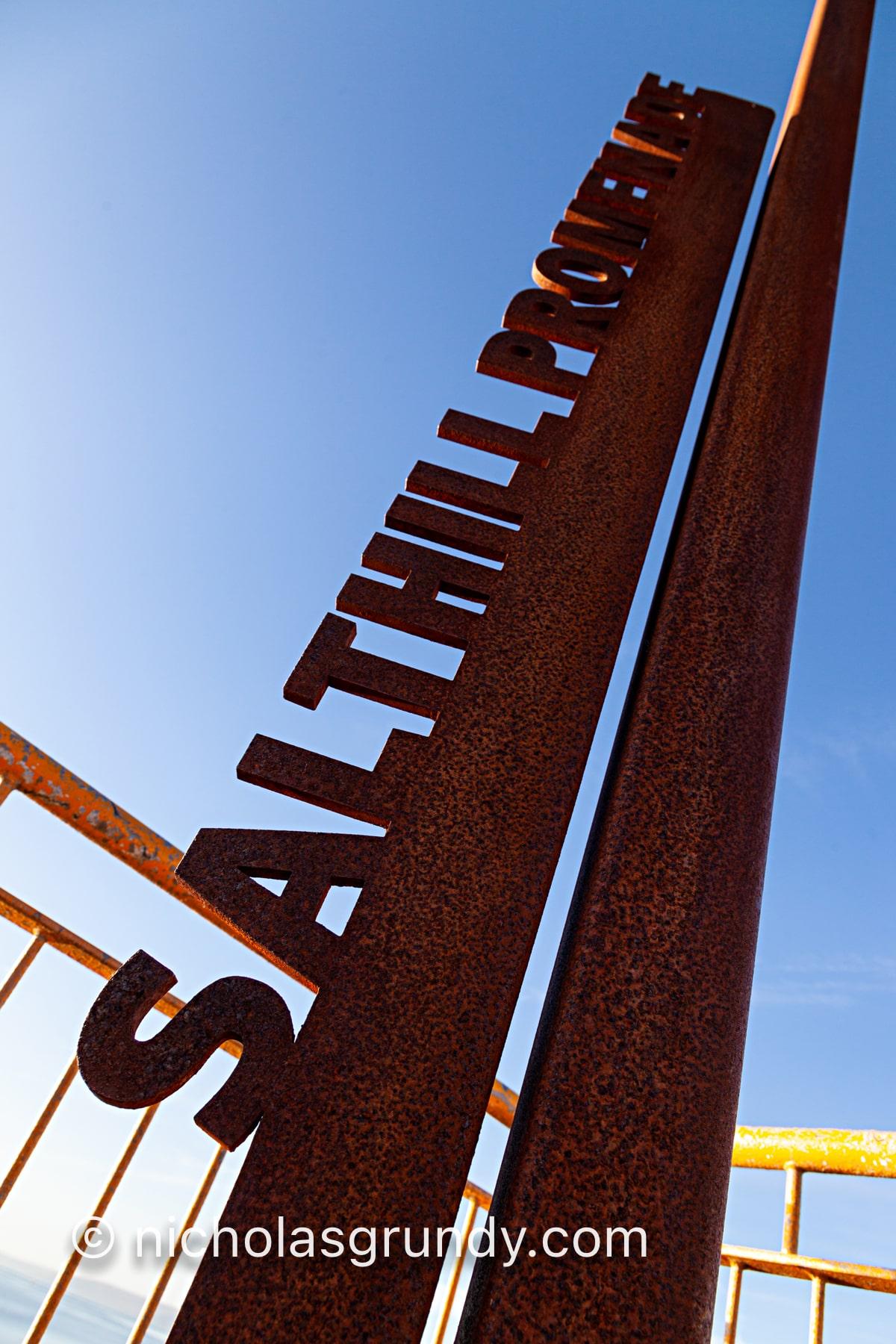 Sathill Promenade Sign Photo