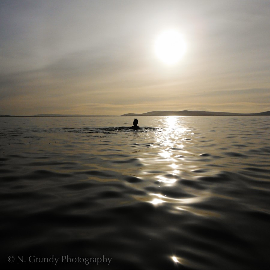 Salthill Swim by Photographer in Galway