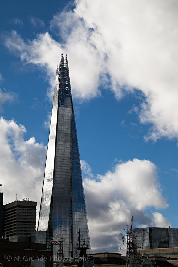 Shard Clouds London by Nicholas Grundy