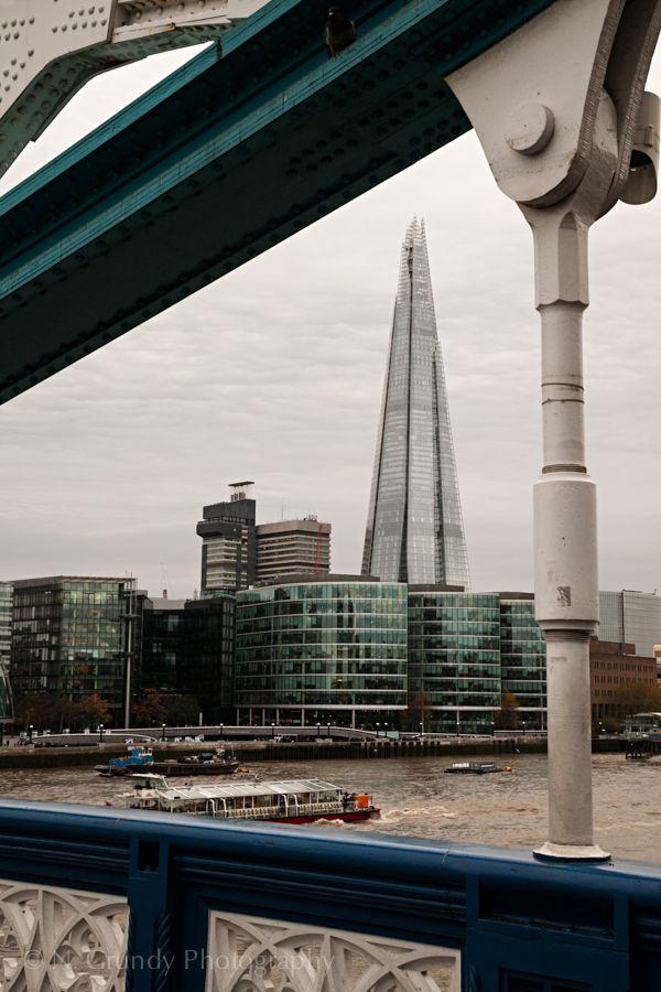 Shard from Tower Bridge, London