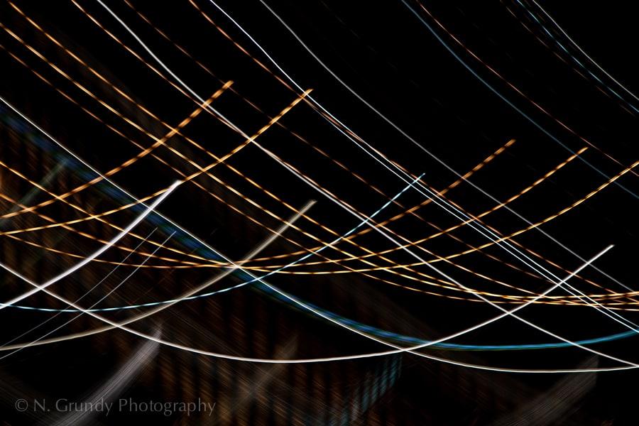 Sinusoidal Lights Art Photo