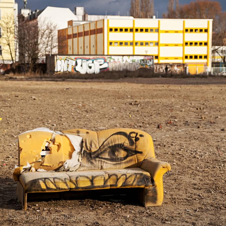 Sofa in Friedrichshain Berlin