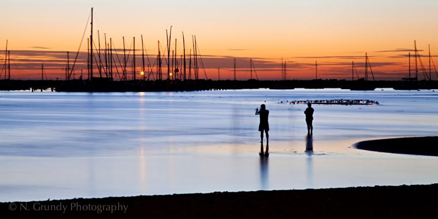 St Kilda Harbour Long Exposure Photo