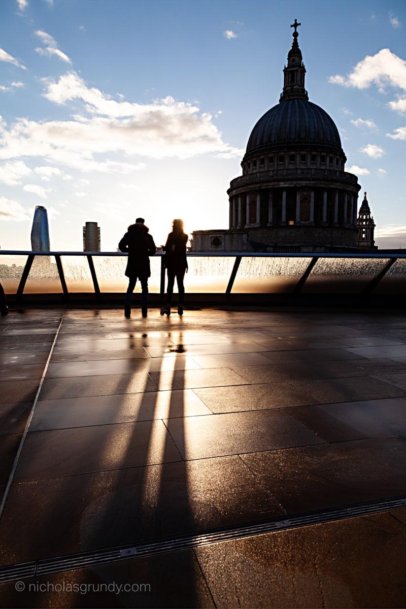 St. Paul's Silhouette Photo London