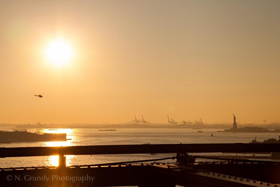 Statue of Liberty Sunset 1