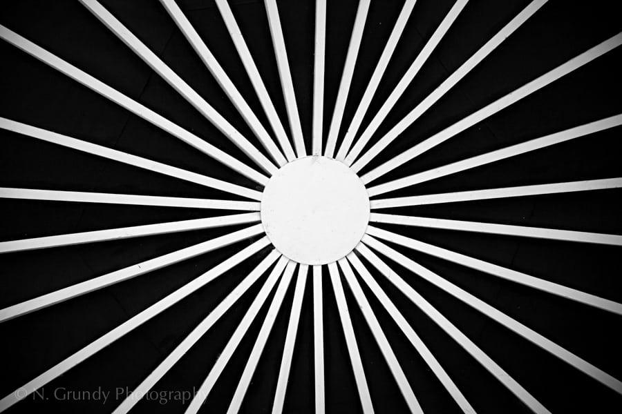 Sunburst Pattern Art Photo