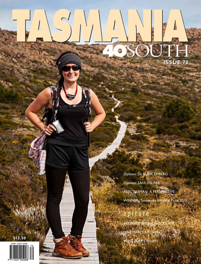 Cover Photo, Tasmania 40 South Magazine