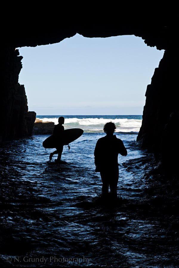 Tasmanian Cave Surfers Photo