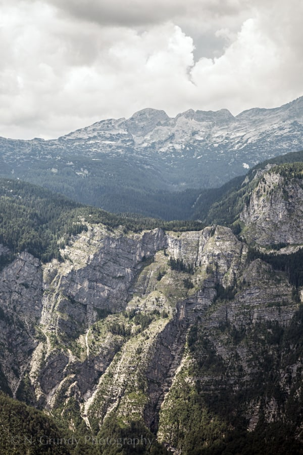 Triglav National Park Cliffs