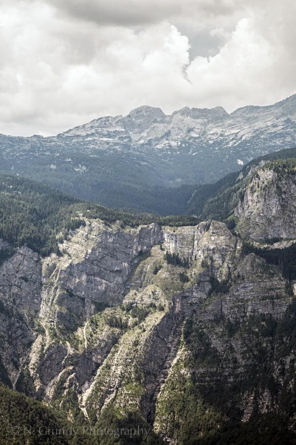 Triglav National Park Cliffs