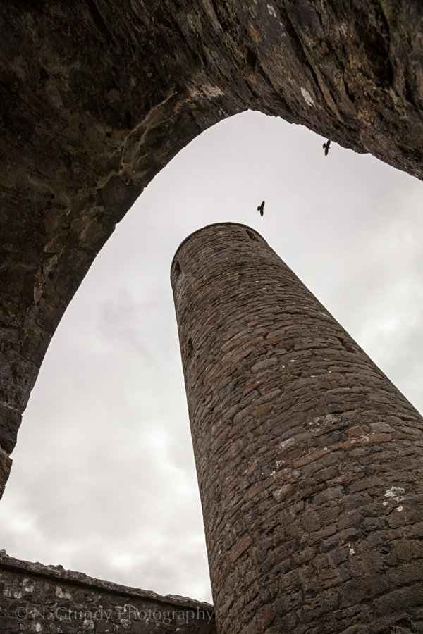Turlough Round Tower Photography in Ireland