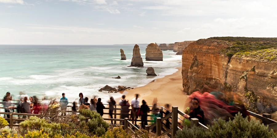 Twelve Apostles Long Exposure Photo Great Ocean Road