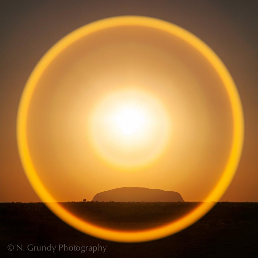 Uluru Halo Australia Photo