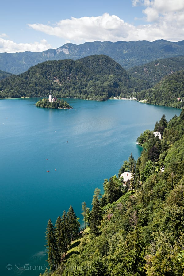 Turquoise Lake Bled