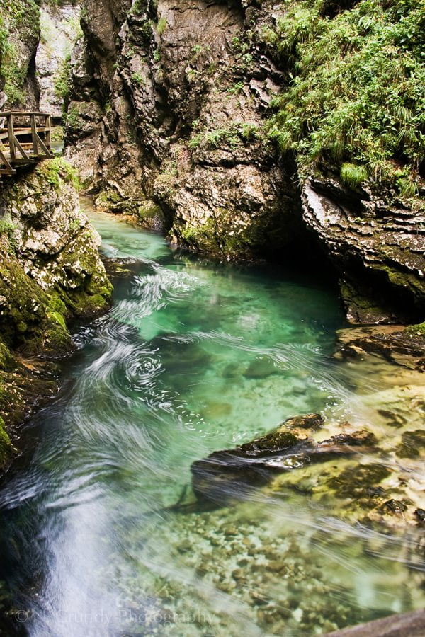 Vintgar Gorge, Slovenia Photo