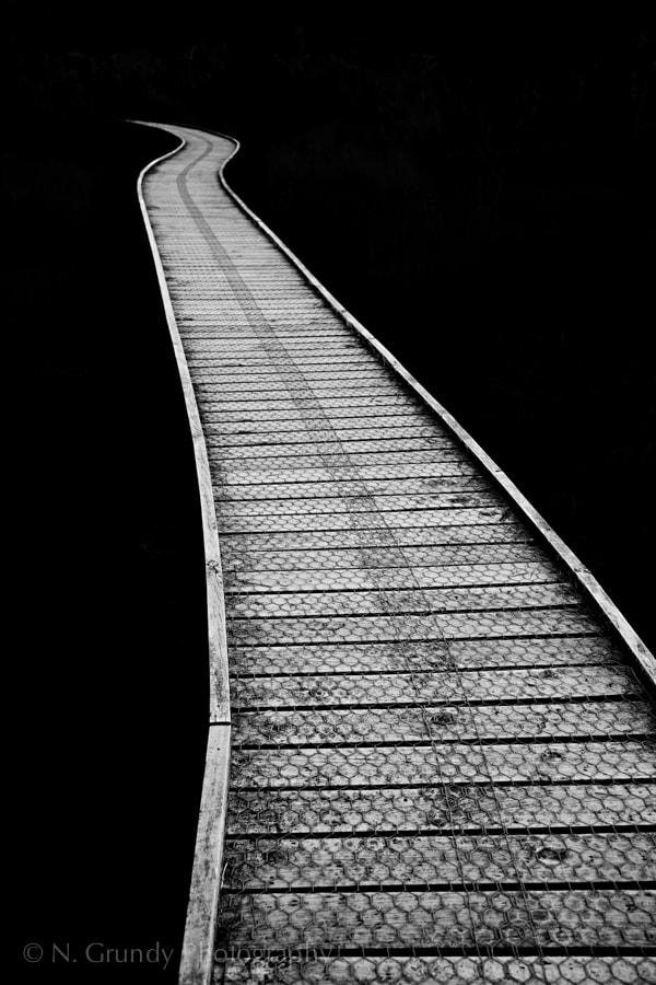 Walkway Abstract Photo
