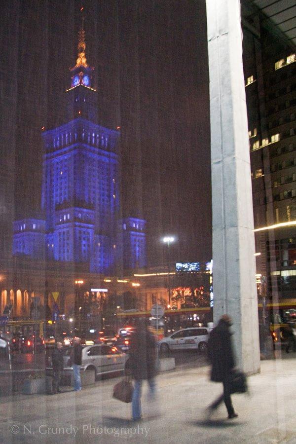 Warsaw Reflections Photo, Poland