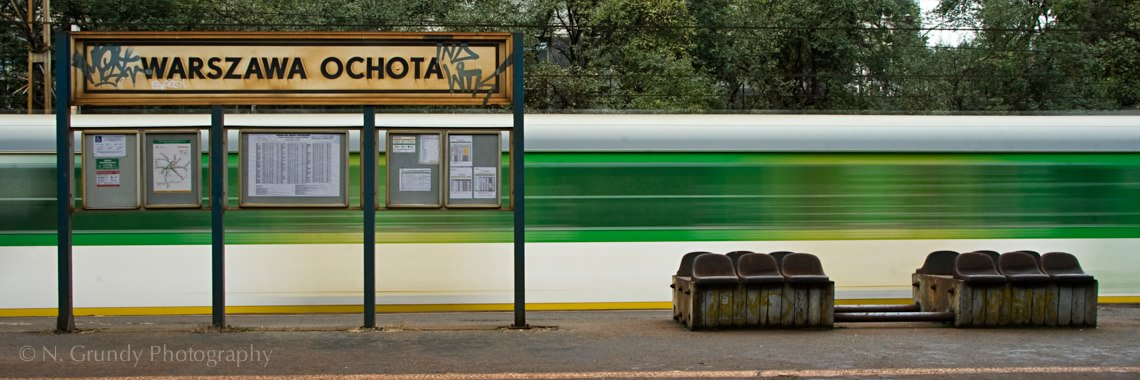 Warsaw Trains Photograph