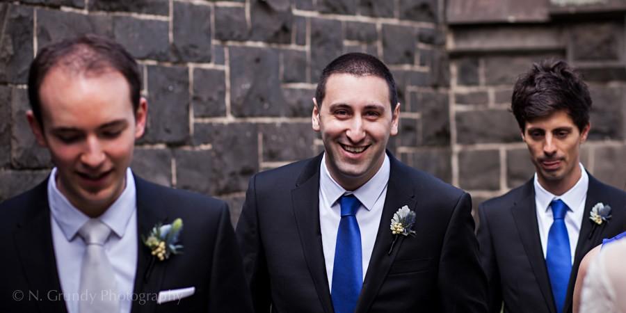 Wedding Groomsmen Photo