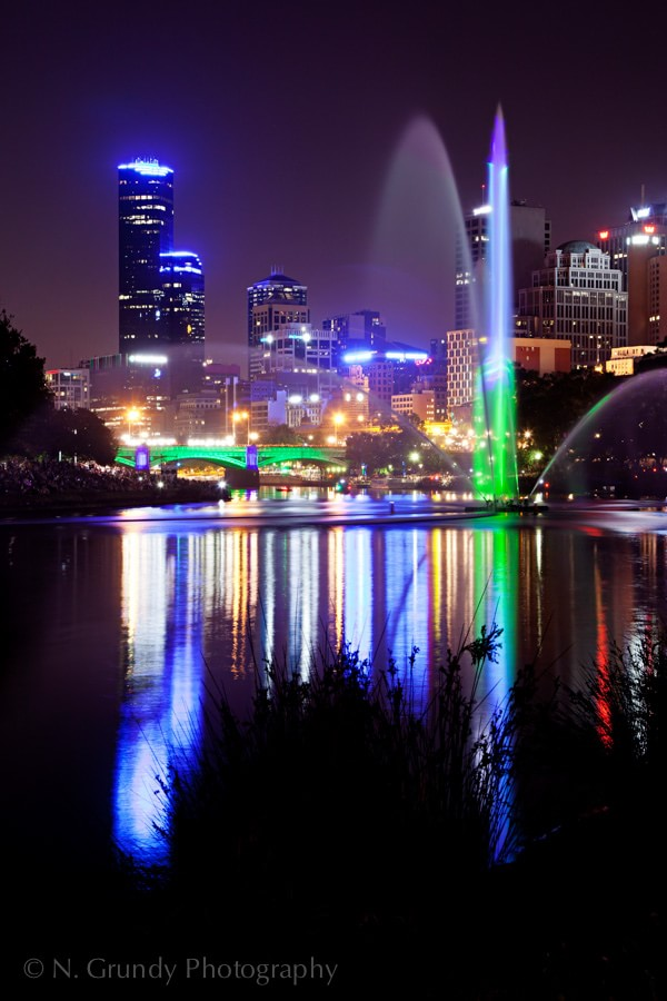 White Night Melbourne by Photographer in Ireland