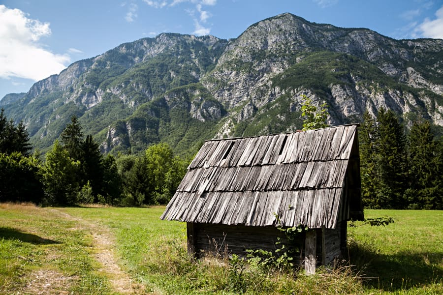 Zlatorog Meadow Hut
